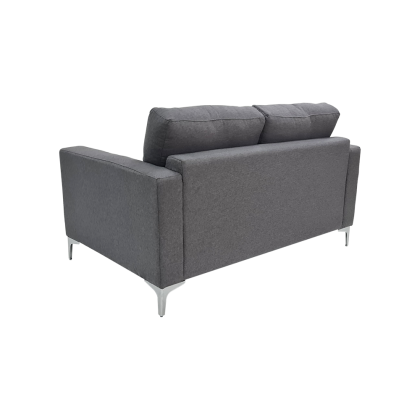 2 Seater Fabric Sofa (M7075) with USB Port | Water Repellent Fabric | Ready Stock (Delivery by Own Logistic)